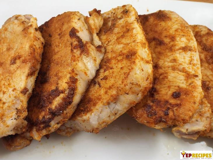 Cajun Spiced Boneless Pork Chops Recipe
