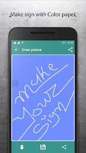 Signature Maker Digital App screenshot 3
