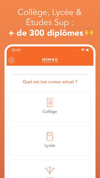 Brevet, Bac, Sup 2020 Android App Screenshot