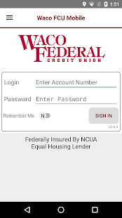 Waco FCU Mobile- screenshot thumbnail