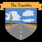 Button The Traveler