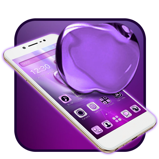 Purple Apple Launcher