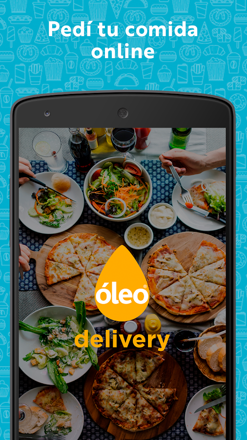 Oleo Delivery: captura de pantalla