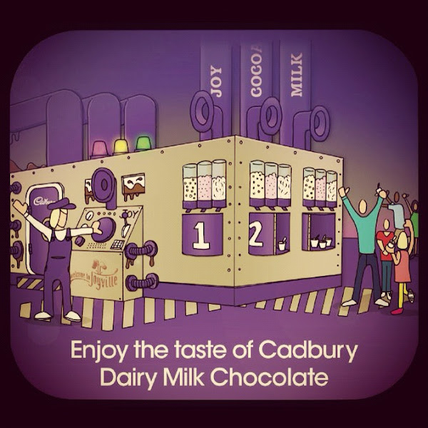 Photo: Step into Cadbury House and immediately enjoy the delicious taste of melted Cadbury Dairy Milk...