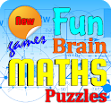 Fun Brain Math Puzzles icon