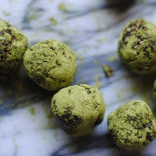 Chocolate Matcha Balls.