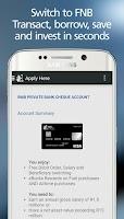 Screenshot of RMB Private Bank App