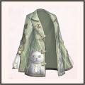 猫の悪戯シャツ