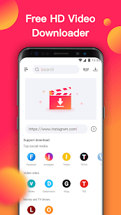 Video Downloader – Free HD Video Download App 2020 Apk Download For Android 1