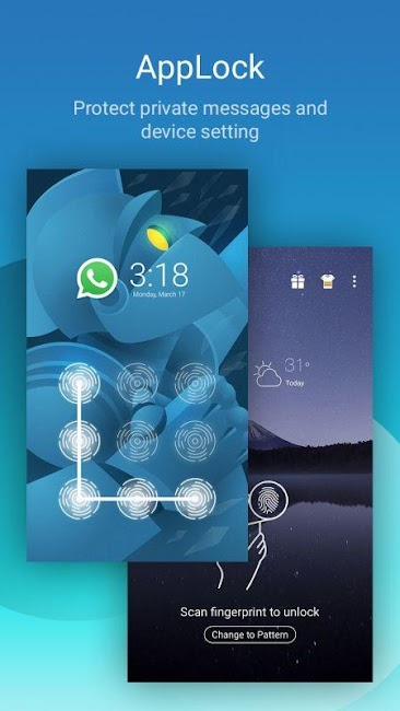 #2. CM Security AppLock AntiVirus (Android)