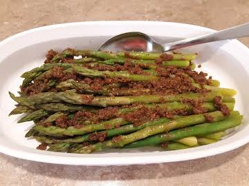 Butter Crumb Asparagus