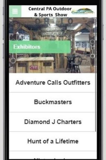 Screenshot for Central PA Outdoor Show in United States Play Store