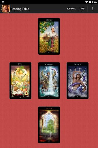 Legacy of the Divine Tarot screenshot 6