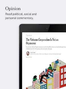 The New York Times Screenshot