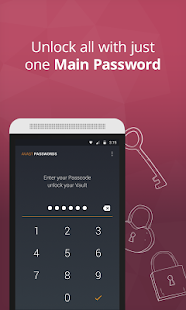 Avast Passwords- screenshot thumbnail
