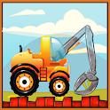 Little Builder : House Construction Truck Workshop icon
