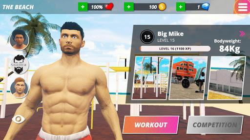 Code Triche Iron Muscle - Be the champion /Bodybulding Workout APK MOD screenshots 4