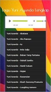 Kumpulan Lagu Yuni Ayunda Lengkap 2017 - náhled