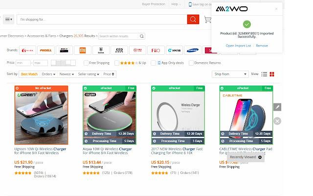 Aliexpress Dropship - Интернет-магазин Chrome