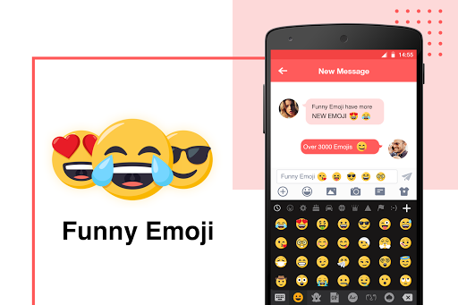 Funny Emoji for Emoji Keyboard screenshot