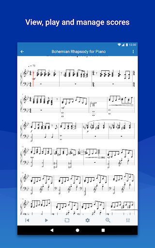 MuseScore: view and play sheet music - Apps on Google Play
