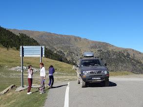 Photo: Port de Cabus à 2312 m : on retrouve Andorre