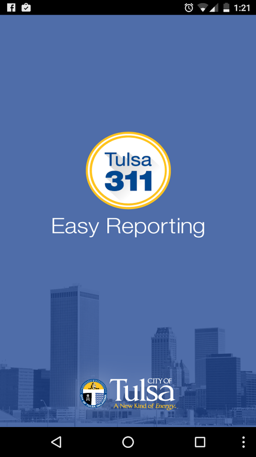 Tulsa311- screenshot