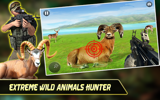Extreme Wild Animals Hunter:Best Shooting Game 1.0.8 screenshots 1