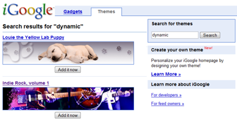 igoogle-themes-search