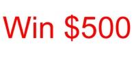 Win $500
