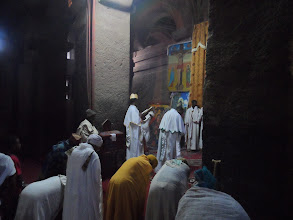 Photo: Ethiopian Orthodox service in Lalibela