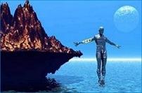 Shelyak Andar sobre água
