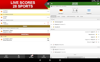 Screenshot of Soccerstand