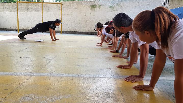 treinamento granito