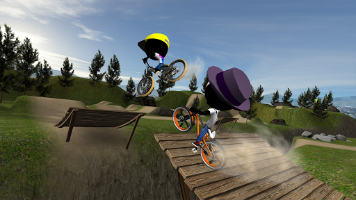 Stickman Bike Battle  captures d'u00e9cran 1