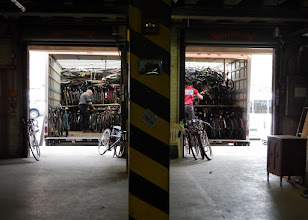 Photo: Over 700 bikes in one day
