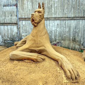 Sandsculpture in Hundested, Denmark by Keld Helbig Hansen - Artistic Objects Other Objects