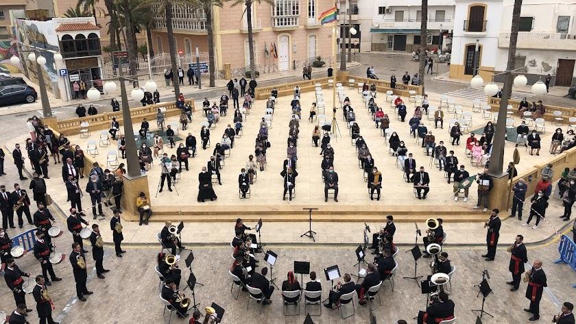 Concierto celebrado en Carboneras por esta Semana Santa de 2021.