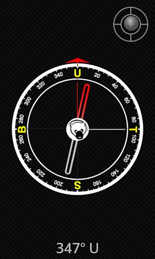 Kompas Kiblat + Dial Roller
