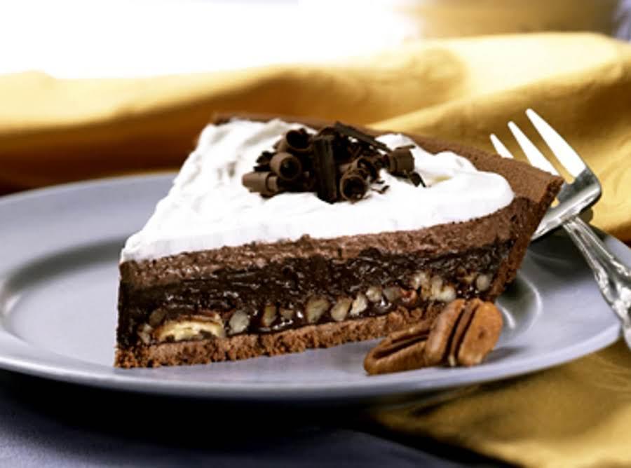 Triple Layer Chocolate Mud Pie