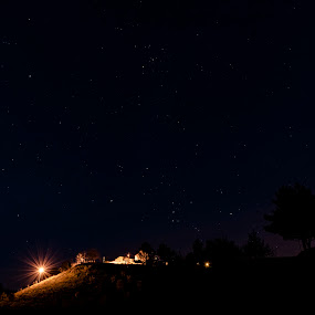 ALDEIA DO MATO by Edu Marques - Landscapes Waterscapes ( mountains, mountain, sky, village, stars, ville, view, skyscape )
