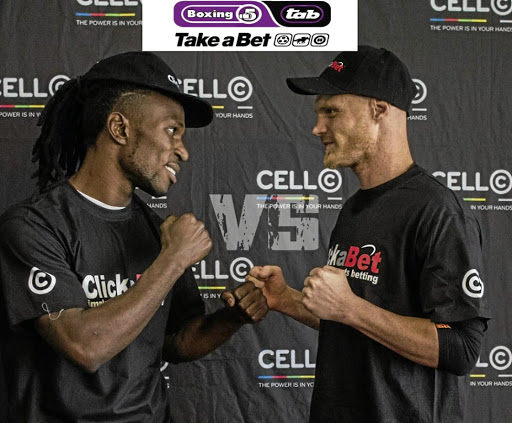 Congolese Eric Kapia Mukadi and Sean Ness have promised to beat each other up at the Turffontein Racecourse on December 3.