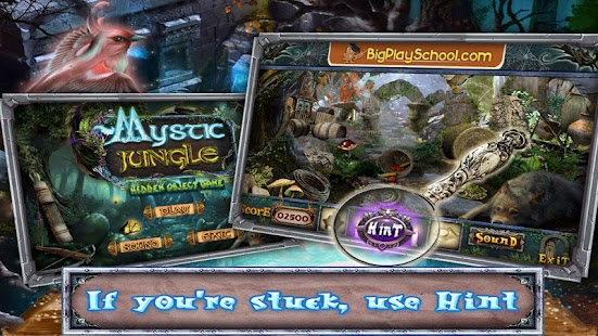 35 Free New Hidden Objects Game Free Mystic Jungle- screenshot thumbnail
