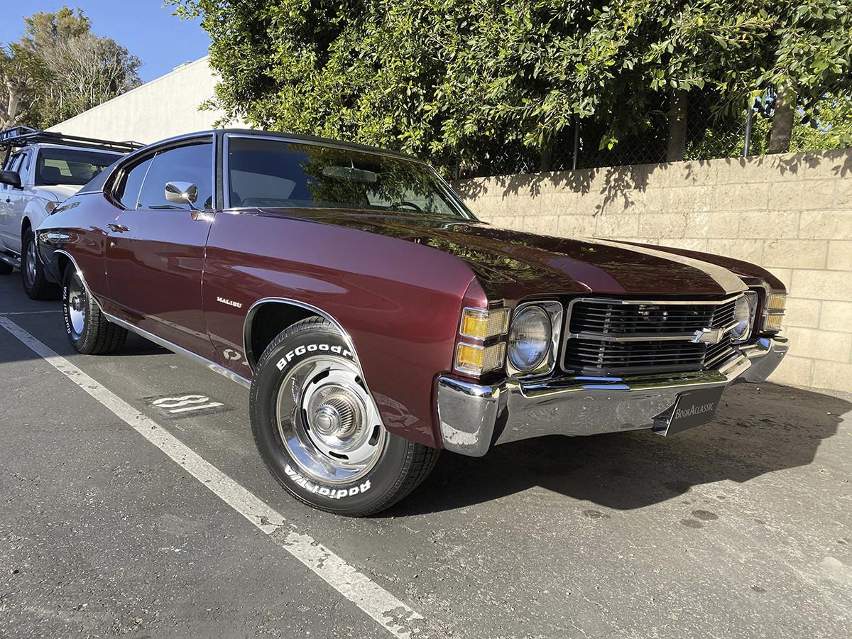 Chevrolet Chevelle Malibu Hire Newport Beach