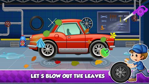 Enfants Car Wash Salon et service Garage  captures d'écran 2