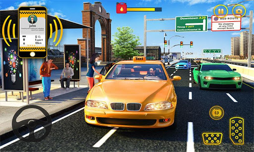 Yellow Cab American Taxi Driver 3D: New Taxi Games  screenshots 8