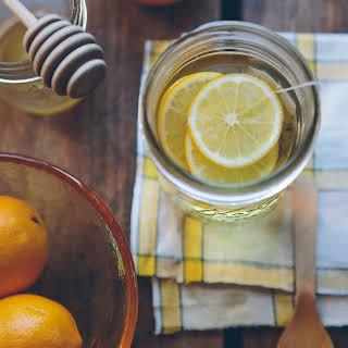 Vitamin C Boosting Green Tea Detox Drink.