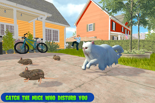 family pet cat simulator: simulation games screenshots 5