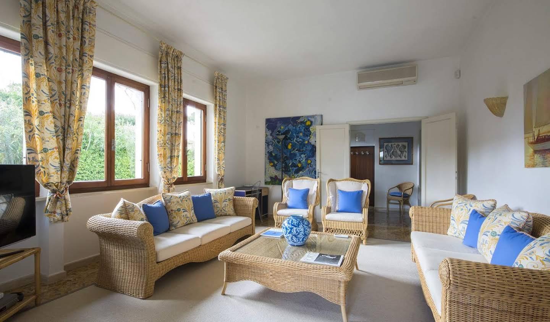 Villa with garden Forte dei Marmi