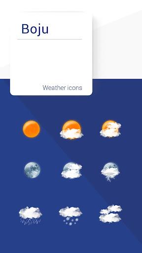 Boju weather icons 1.00.06 screenshots 1